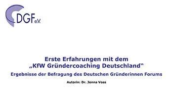 KfW-Grunderchoaching